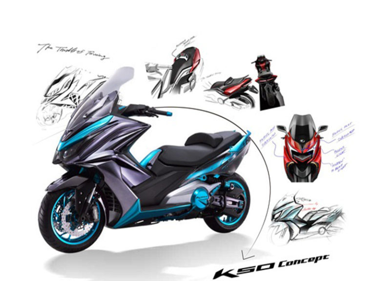 Read more about the article Kymco K50 Concept – pojazd koncepcyjny