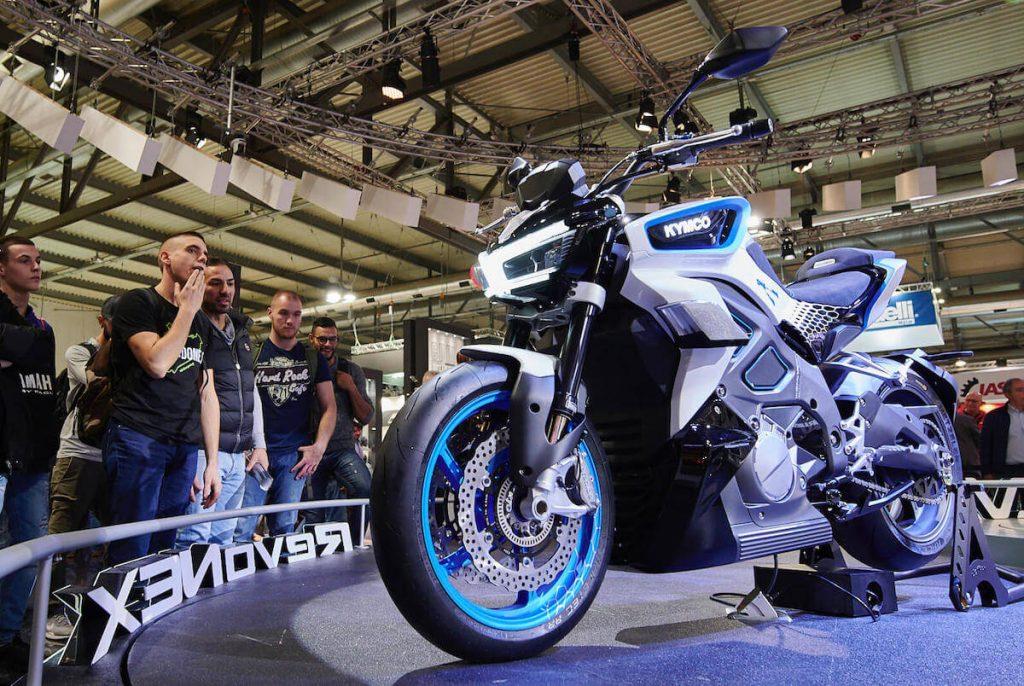 nowosci kymco revo nex motocykl elektryczny skuter
