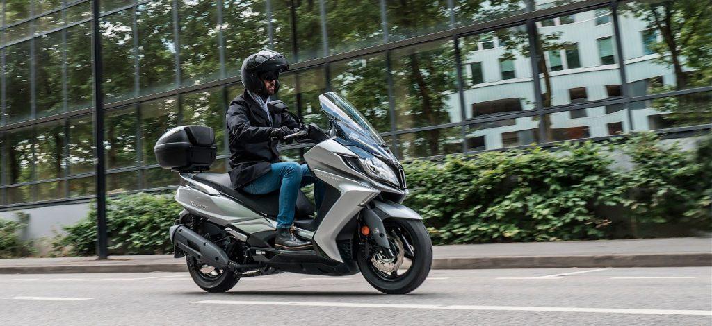 nowości kymco downtown 350 tcs skuter motocykl