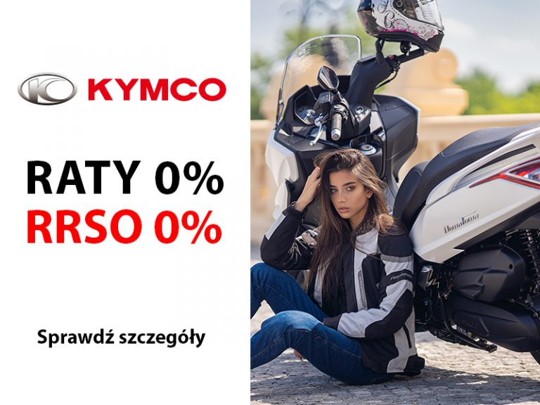 Read more about the article Raty 0% na skutery KYMCO